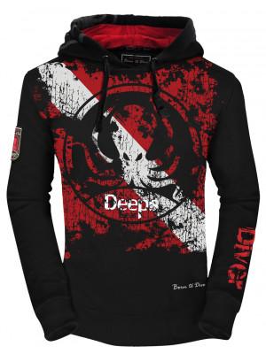 Deeps Gear Hoodie Diver