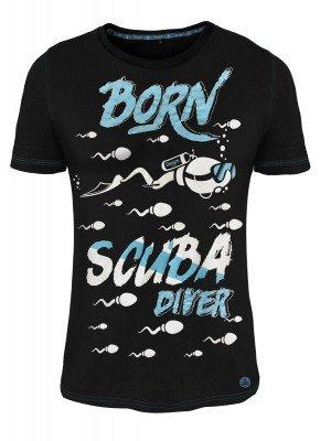 Deeps Gear T-Shirt Born Scuba Diver