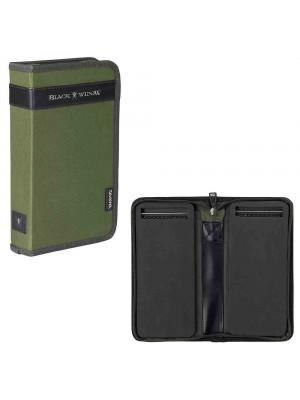Daiwa Black Widow Rig-Wallet, 29 x 37 x 4.8 cm, Porte-feuille cheveu, vert