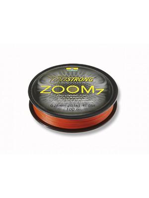 Cormoran Corastrong ZOOM7 orange 0,30mm 31kg 100m - ligne coramid tressé ronde