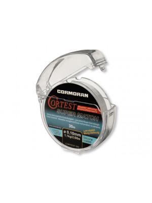 Cormoran Cortest Super Match transparent 0.22mm 4.8kg 30m - Bas de ligne