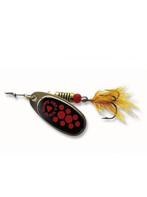 Cuiller - Mepps noir Fury à la mouche cuivre Dim.2 - 4,50g