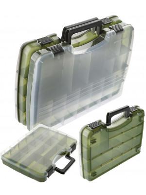Cormoran Boîte de rangement Modèle 10016, boîte de leurre, 38 x 28 x 11 cm, séparer en deux parties
