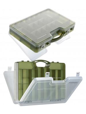 Cormoran Boîte de rangement Modèle 10021, Leurre - et la boîte de allround, 30 x 21 x 7cm, 2-niveaux