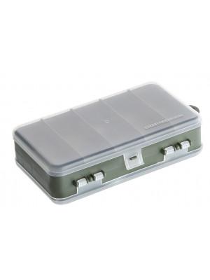 Cormoran Boîte de rangement Modèle 10023, Boîte à leurres et à accessoires, 18 x 11 x 5cm, 2-niveaux