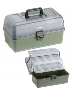 Cormoran Boîte de rangement Modèle 11004, 36 x 20 x 20cm, 3-niveaux