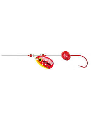 Cormoran Big Trout Montage pêche à la traîne, rouge, 200cm, Tal. 10, DM 0.2mm, 2 pcs