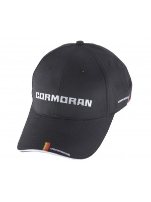 Cormoran Casquette, noire, Casquette style baseball, Taille unique