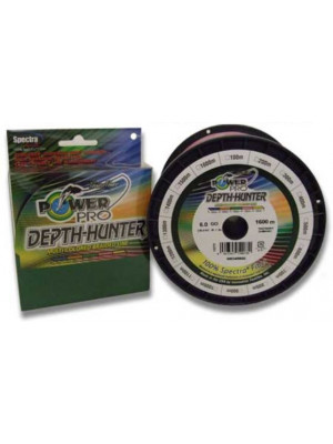 Power Pro Depth-Hunter Couleur Multi 300m 0,10mm 5kg