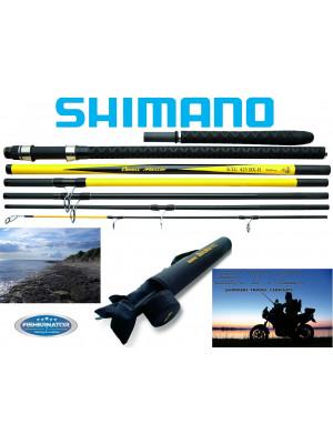 Shimano Beastmaster STC Surf BX, 4.25m, jusqu'à 225g, 7 elements, Canne bateau, Canne voyage