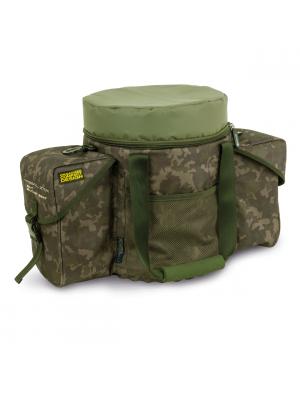 Shimano Tribal XTR Bait Bucket Seat, 54cmx30cmx39cm, Sac d'accessoires, Sac à godet à appât