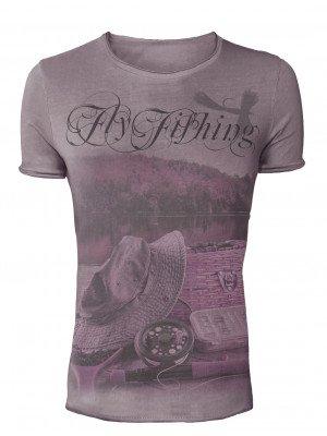 Hotspot Design T-shirt de pêcheur Fly Fishing - Collection Vintage