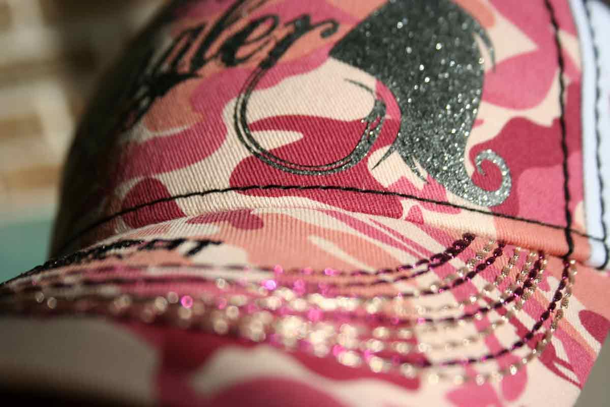 lady angler kappe hotspot design